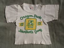 >orig./Rare 1950's Champion Label Oregon Ducks *Knothole Gang* Child's T-Shirt