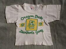 >RARE 1950's Champion KNOTHOLE GANG Child's T-Shirt OREGON DUCKS FOOTBALL SHIRT