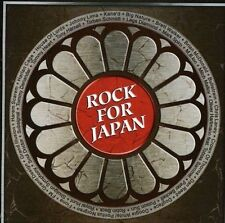 Rock For Japan by Various Artists (CD, Apr-2011, AOR Heaven)