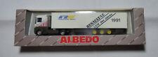 Albedo 700006  Renault AE500 LKW des Jahres 1991 Central Trailer Re1:87  H0  OVP