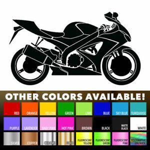 Motorcycle Bike VInyl Decal Sticker for Macbook Air Pro Laptop Car Window Decor