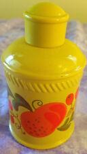 Avon Pennsylvania Dutch Foaming Bath Oil Decanter Bottle nearly full 1973