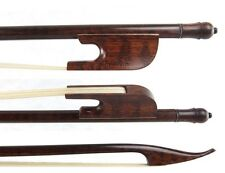 Violin Bow, Snakewood Baroque Style, Hand Made, 4/4