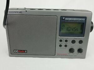 C CRANE CCRADIO 2  DIGITAL AM FM WEATHER 2-METER PORTABLE RADIO