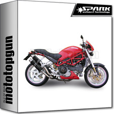 SPARK 2 ESCAPES 45 ROUND RACING ACERO NEGRO DUCATI MONSTER S4RS 2006 06 2007 07