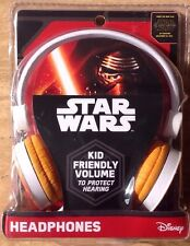 New Star Wars Force Awakens C-3Po R2-D2 Headphones Kid Friendly Safe Volume