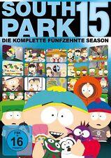 SOUTH PARK - SEASON 15 AMARAY  3 DVD NEU  ERIC STOUGH/+