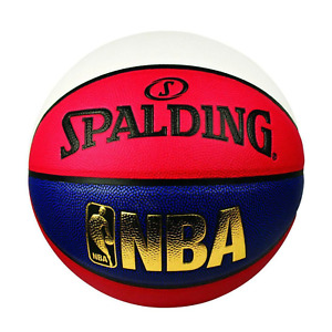 Youths Spalding NBA Indoor/Outdoor Association Colours Basketball - Size 6