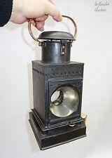 rare et superbe lanterne à pétrole - lampe breveté L & B