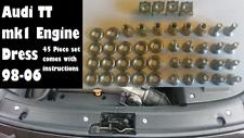 Audi TT mk1 98-06 BAM or APX Engine Bay Dress Upgrade + Instructions