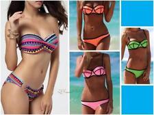 Women Bandage Bikini Set Padded Bra Swimwear ( Size S M L)