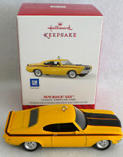 1970 BUICK GSX  CLASSIC AMERICAN CARS SERIES  24TH 2014 Hallmark ORNAMENT