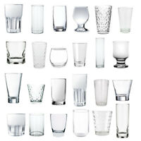 Glassware drinking glasses cocktail gin juice water selection ALL £9.99 OR UNDER