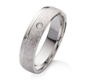 Verlobungsring aus 925 Silber mit echtem Diamant Ringe Gravur SEB43