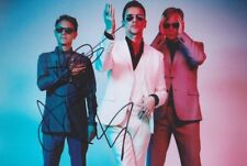 DEPECHE MODE DAVE GAHAN & GORE Foto 20x30 Autogramm signiert IN PERSON signed