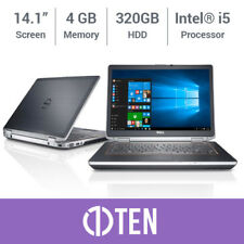"Laptop Dell Latitude E6420 E6430 14"" i5 3.30 GHz 4 GB RAM 320 GB HDD SSD * Win 10 *"