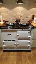 Aga Cooker 13 amp  Electric.  Second hand  light blue 2 oven