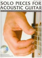 Solo Pieces For Acoustic Guitar Gtr Book/Cd by Various, NEW Book, FREE & FAST De