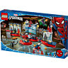 Lego Marvel Spiderman Attack on the Spider Lair Building Set 76175