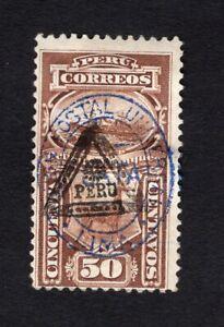 Peru 1883 stamp Mi#Porto 25 MH CV=90€