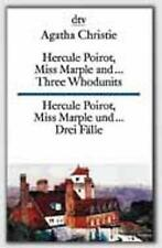 Hercule Poirot, Miss Marple and... 3 Whodunnits by Agatha Christie (Paperback, 1976)