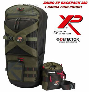 ZAINO XP BACKPACK 280 + SACCA FIND POUCH