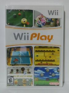 Nintendo Wii Play Game New Sealed