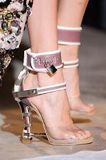 Dsquared2  Virginia Runway Sandals Rihanna Pumps Heels Shoes BNIB 5 EU 38