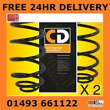 Ford Fiesta Mk 4 Rear Suspension Coil Springs x2 95-02 Factory Matched Pair
