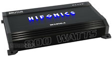 HIFONICS BEX850.4 800 WATT RMS 4 CHANNEL CAR AMPLIFIER SUB/SPEAKER AMP 1600 MAX