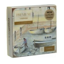 Cornish Harbour Luxury Quality 6 Coaster Set by Creative Tops - 1st Class Post!