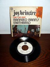 "PROMO VERTIGO MANFRED MANN'S EARTHBAND 7""  RARE PS  ITALY 1973 JOYBRINGER"