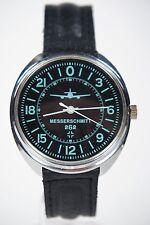 Russian mechanical watch RAKETA Messerschmitt-262 - 24H Black dial. 39mm