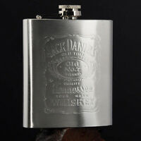 200ML/7oz Portable Flasks Flask Drinkware Printing Stainless Steel Flagon Gift