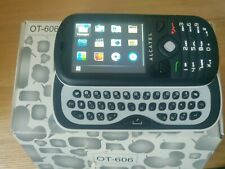 ALCATEL One Touch OT-606 Touch Chat -black/white (Unlocked) Mobile Phone AZERTY