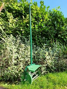 TUDOR (Made in the UK) Manual Push / Pull Lawn Aerator. Complete with guard.