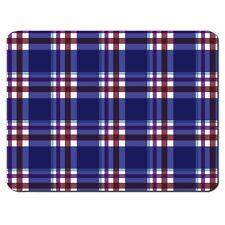 Azul Tartán Patrón Escocia escocia Falda escocesa alfombrilla de ratón PC