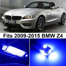 10 x Premium Blue LED Lights Interior Package Upgrade for BMW Z4