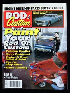 ROD & CUSTOM MAGAZINE - APRIL 1997 - HOW TO PAINT CANDIES