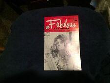 Fabulous Las Vegas Magazine Sammy Davis Jr Danny Kaye Ann Adams Model 11/8/1969