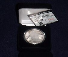 TROY AIKMAN DALLAS COWBOYS .999 FINE SILVER ROUND HIGHLAND MINT COIN 1 OF 7500