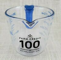Farm Credit 100th Anniversary Plastic 1 1/2 Cup Measuring Cup