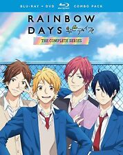 Rainbow Days: The Complete Series (Blu-ray/DVD, 2017, 4-Disc) NEW anime romance