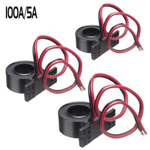 3pcs/lot New Mini 50A/5A 100A/5A 150A/5A AC Current Transformers CTs 0.5 Class