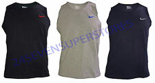 Nike Patternless Crew Neck T-Shirts for Men