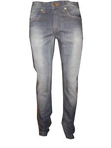 Jeans Calvin Klein Uomo Aderente Skinny Fit Azzurro Taglia W 30 31 32 34 L 34
