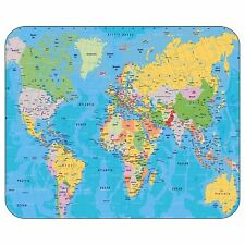 World Map Mousepad Mouse Pad Mat