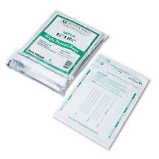 Quality Park Poly Night Deposit Bags w/Tear-Off Receipt 8.5 x 10-1/2 Opaque 100