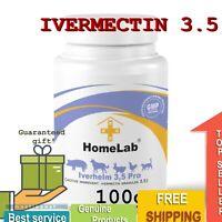 100gr Iverhelm 3,5® HomeLab De-wormer Powder For Dogs, Goats, Pigs, Cattle,Sheep