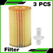 For 07-09 TUNDRA V8 5.7L((with Drain Plug),Vin(V 3PCS Hastings Engine Oil Filter